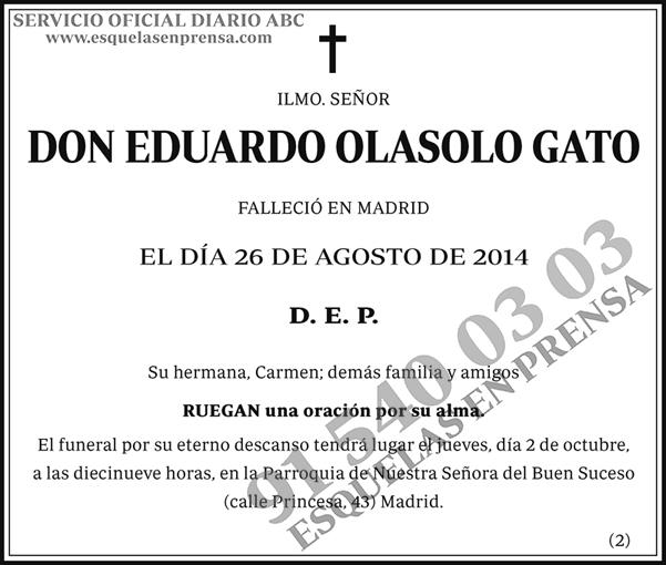 Eduardo Olasolo Gato